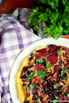 omlet z botwinką, pyszny, szybki, zdrowy i kolorowy :) przepis po kliknięciu ...