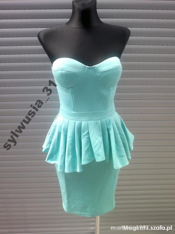 sprzedam sukienkę ze zdjecia kupiona na allegro okazala sie za duza  rozmiar z metki s, ale na m tez bedzie dobra  nowa z metką, firma Rare London 60 zł + wysyłka  kinga.snk@interia.pl
