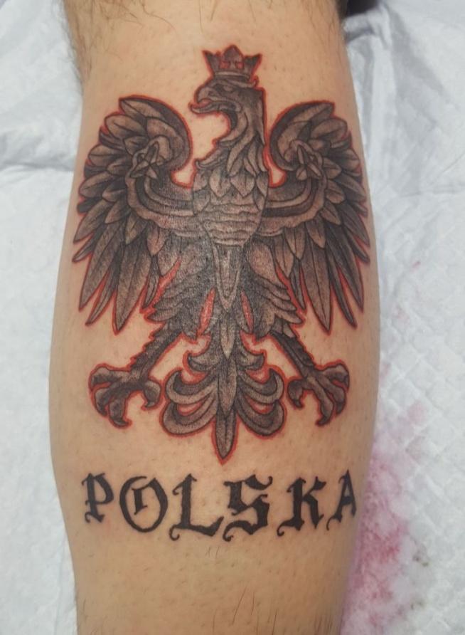 Orzeł Polskie Godło Na Tatuaże Zszywkapl