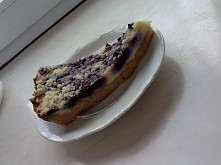 Tarta z serem i jagodami :))