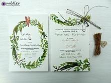 Ręcznie robione zaproszenia ślubne!