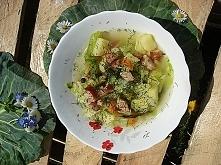 Parzybroda- zupa z młodej kapusty