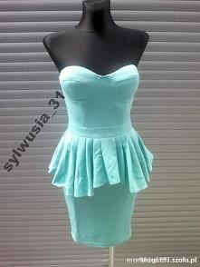 sprzedam sukienkę ze zdjecia kupiona na allegro okazala sie za duza  rozmiar ...