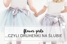 Flower girls czyli druhenki na Twoim ślubie :)  fot. Olivia Leigh  Więcej na blogu Madame Allure!
