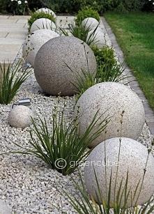 Kule w aranżacji ogrodu