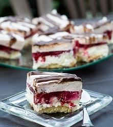 Pianka malinowa z galaretką/ ciasto z malinami bez pieczenia Składniki: 1 lit...