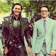 Loki i Tony Stark :D