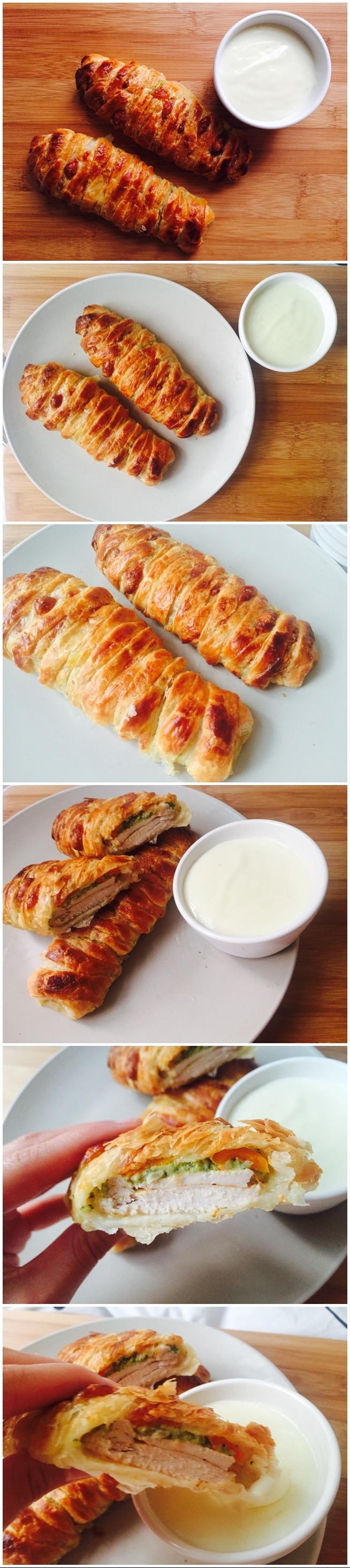 Zawijane ciasto francuskie z filetem z piersi kurczaka, brokułem, marchewką i mozzarellą! Pyszne i łatwe w przygotowaniu, a za to bardzoo efektowne. Jeżeli jeszcze tego nie probowałaś to szybko musisz to nadrobić!** Zapraszam do obejrzenia filmiku, w którym pokazuję jak zrobić to cudo ** link z przepisem w komentarzu!