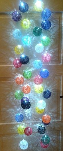 Cottonball ręcznie robione 40szt.