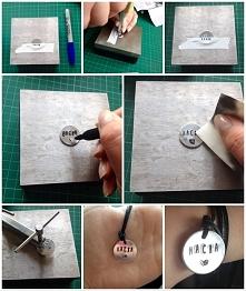 Juz dzis wieczorem na moim blogu pojawi sie tutorial jak zrobic bransoletke z recznie wybijana zawieszka. Zapraszam (wybijtosobiezglowy.blog.pl)