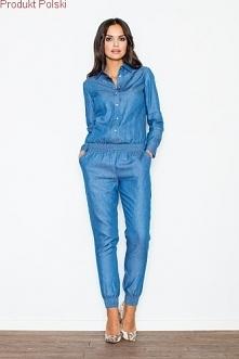 Kombinezon jeansowy w dwóch bardzo modnych kolorach jasny i niebieski.  Kombinezon damski to supermodna część damskiej garderoby. Może nie tak popularny jak sukienka, ale z pewn...