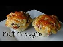 muffinki i pizza idealne połączenie :)