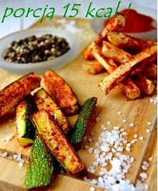 Dietetyczne frytki z selera...