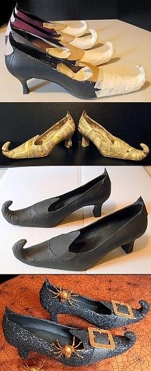 buty czarownicy//cosplay