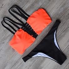 Bikini z paseczkami. Dostępne na zamówienie