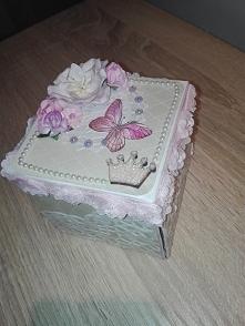 Exploding Box dla malej księżniczki;)