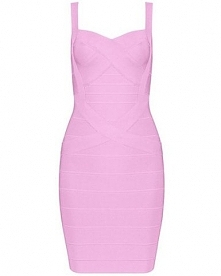 różowa bandarzowa sukienka <3 <3 <3