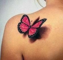 Tatuaż 3d - Motyl*