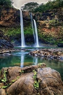 Waialua Falls, Kauai, Hawaje