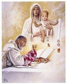 """""""Jezus niech będzie dla ciebie -Zawsze i we wszystkim -obroną, pomocą i ..."""