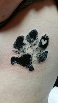 Tatuaż łapka