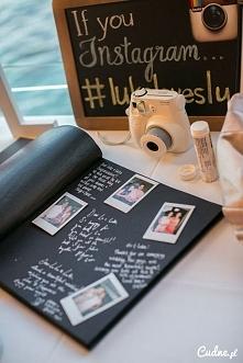 Księga gości ze zdjęciami pomysł...