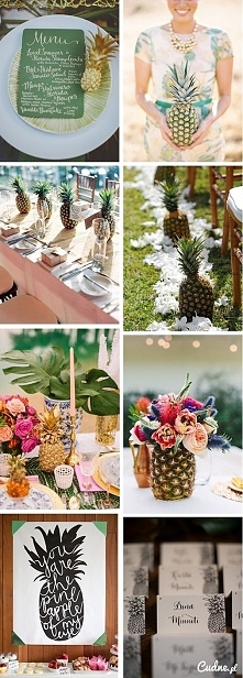 Weselny ananas