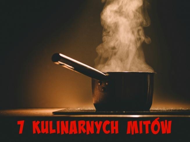 Gotowanie i mitologia mają wbrew pozorom wiele spójnego. Kulinarne mity są przekazywane z pokolenia na pokolenie, a w efekcie przepisywane z książki kucharskiej do książki kucharskiej. Powstałe przez lata mądrości ludowe opierają się na solidnej wiedzy, ale część z nich jest po prostu zmyślona.