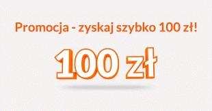 Promocja ing! Łatwe 100zł do zdobycia :)