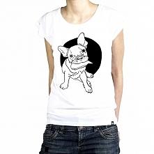 Koszulka z naszym Guciem nie tylko dla fanów buldożków :)  Nie obowiązuje go nigdzie żaden zakaz wstępu :) Wspaniały towarzysz na wszelkiego rodzaju wypady :) Koszulka z wysokog...