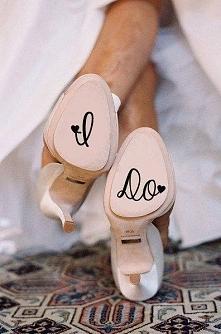 naklejki pod buty ślubne :)