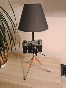 Lampka z aparatu FED 5. Nastrojowe światło w Twoim pokoju. Stylowy dodatek. Z...