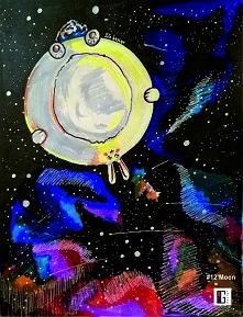 Królik jako Księżyc? Chcę! ;D