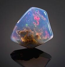 podwodny świat w kamieniu &...