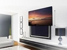 Ukryty telewizor we wnętrzu, telewizor za obrazem czyli jak ukryć telewizor w...