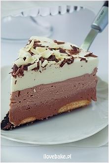 Sernik potrójnie czekoladowy