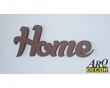 Napis Home - Dekoracje Ścienne - Wnętrz 3d