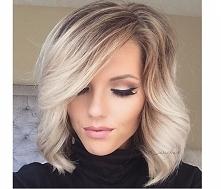 Modne fryzury półdługie 2016