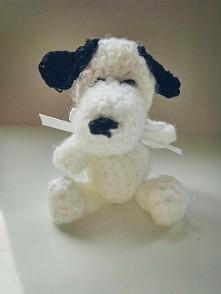 Szydełkowy Snoopy - amigurumi