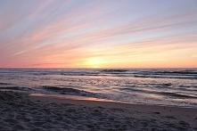 Zachody słońca są niezwykle klimatyczne.