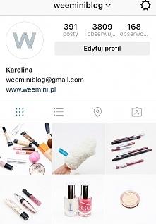 profil weemini.pl Moje mini recenzje kosmetyków i trochę o mnie