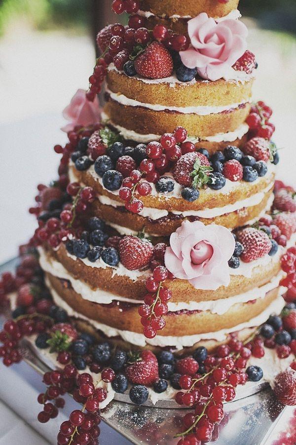 naked cake (;