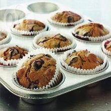 Muffiny z owocami letnimi