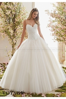 Mori Lee Wedding Dresses Style 6838