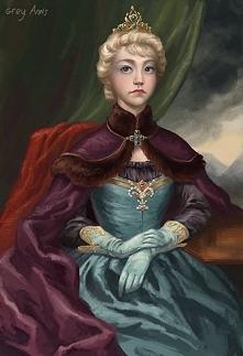 Jak autentyczny portret królowej :D