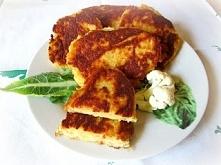 Placuszki z kalafiora :) W sam raz na danie czerwcowe, w którym trwa sezon kalafiorowy
