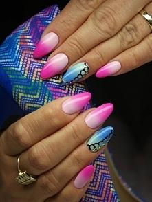 Moc kolorów :)) Idealny letni manicure