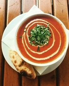 Krem z pomidorów ;)