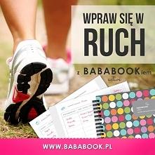 i mamy lato! więc wpraw się w ruch :) BabaBook Active - Twój dziennik fitness