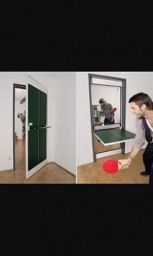 drzwi pingpongowe